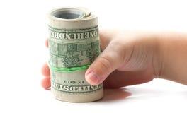 3 d interesy wiele przedmiotów dolarów Zdjęcie Stock