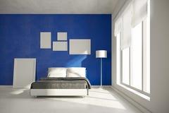 3d interior bedroom render Royalty Free Stock Photos