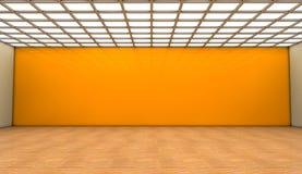 3d Interior. 3d design interior and global illumination Royalty Free Stock Photography