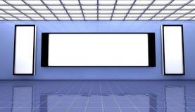 3d Interior. 3d design interior and global illumination Stock Images