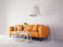 3d interior Stock Photography