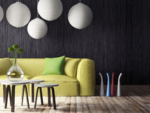 3d interior Royalty Free Stock Images
