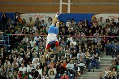 d'intérieur européen de championnats d'athlétisme Images libres de droits