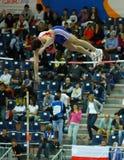 d'intérieur européen de championnats d'athlétisme Photos stock