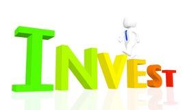 3D investono Immagine Stock
