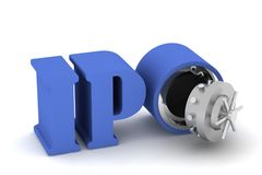 3d IPO Stock Images