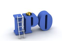3d IPO Stock Photography