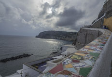 D'Ischia de Sant'Angelo Photo stock