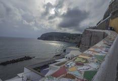 D'Ischia di Sant'Angelo Fotografia Stock