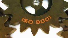 3d ISO 9001 Stock Photo