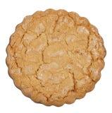 D'isolement autour du biscuit Image stock