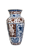 D'isolement avec le beau vase thaï à type. Photo stock