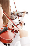 Duo de violon Image stock