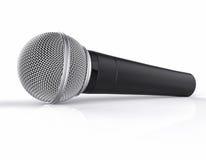 3D isolerad mikrofon Royaltyfri Foto