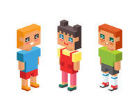 3d isometric family couple children kids people concept flat icons flirting love first date parenting together vector. 3d isometric family couples children, kids Stock Photography