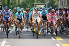 d'Italia 2009 del giro - raza en Milano Fotos de archivo libres de regalías