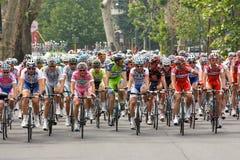 d'Italia 2009 del giro - raza en Milano Fotografía de archivo libre de regalías