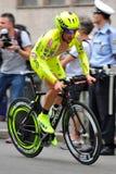 d'Italia 2012 do Giro - experimentação do tempo de Milão Fotografia de Stock Royalty Free