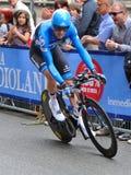 d'Italia 2012 van de giro - Hesjedal de winnaar Stock Foto's