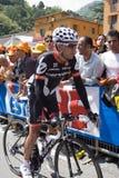 D Italia - Carlos Sastre Candil do Giro 100° Foto de Stock