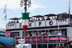 D'Italia de chèques postaux, Trieste Photo libre de droits
