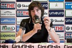 d'Italia de chèques postaux de Gianni Bugno Photo libre de droits