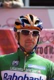 D Italia - Denis Menchov do Giro 100° Imagem de Stock Royalty Free