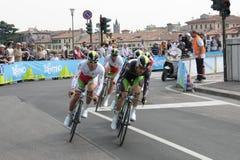 d'Italia di postagiro - squadra di ORICA Fotografie Stock