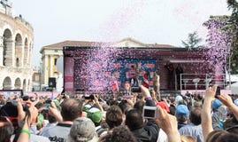 d'Italia do Giro - Ramunas Navardauskas Fotos de Stock