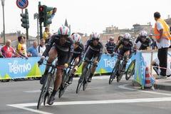 d'Italia van de giro - KWAM team royalty-vrije stock afbeeldingen