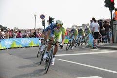 d'Italia van de giro - team LIQUIGAS stock foto's