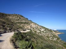 D'Itra nacional Peniscola Spian de Parc Imagen de archivo libre de regalías