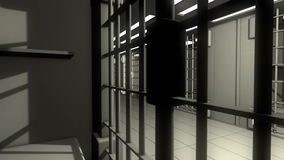 3d jail stock video footage