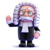 3d Judge waves Stock Photos