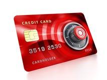 3d karty kredyta wizerunku kędziorek Zdjęcie Stock