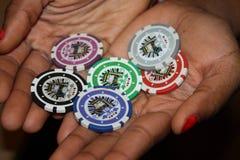 3d kasyno szczerbi się ilustrację Zdjęcie Stock