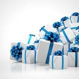 3d - Kerstmis stelt voor Stock Afbeelding
