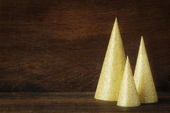 3D Kerstmisboom Stock Afbeelding