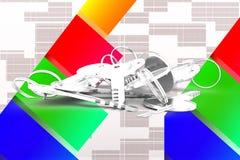 3d Keys Illustration Royalty Free Stock Image