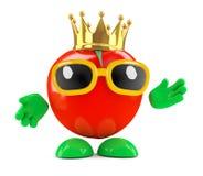 3d King tomato Stock Image