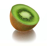 3d Kiwi Fruit Royaltyfria Bilder