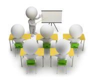 3d kleine Leute - Ausbildungskurse Stockbild