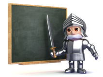3d Knight classes Royalty Free Stock Photos
