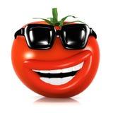 3d Koele tomaat royalty-vrije illustratie