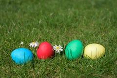 3 d koloru Wielkanoc jaj grafiki komputerowych Zdjęcia Stock