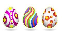 3 d koloru Wielkanoc jaj grafiki komputerowych royalty ilustracja