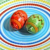 3 d koloru Wielkanoc jaj grafiki komputerowych Zdjęcie Royalty Free