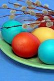 3 d koloru Wielkanoc jaj grafiki komputerowych Obrazy Royalty Free