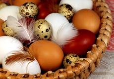 3 d koloru Wielkanoc jaj grafiki komputerowych Fotografia Stock