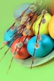 3 d koloru Wielkanoc jaj grafiki komputerowych Obraz Royalty Free
